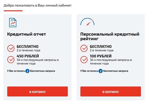 НБКИ: заказ кредитного отчета